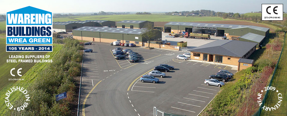Wareing Buildings Wrea Green - Leading suppliers of steel framed buildings